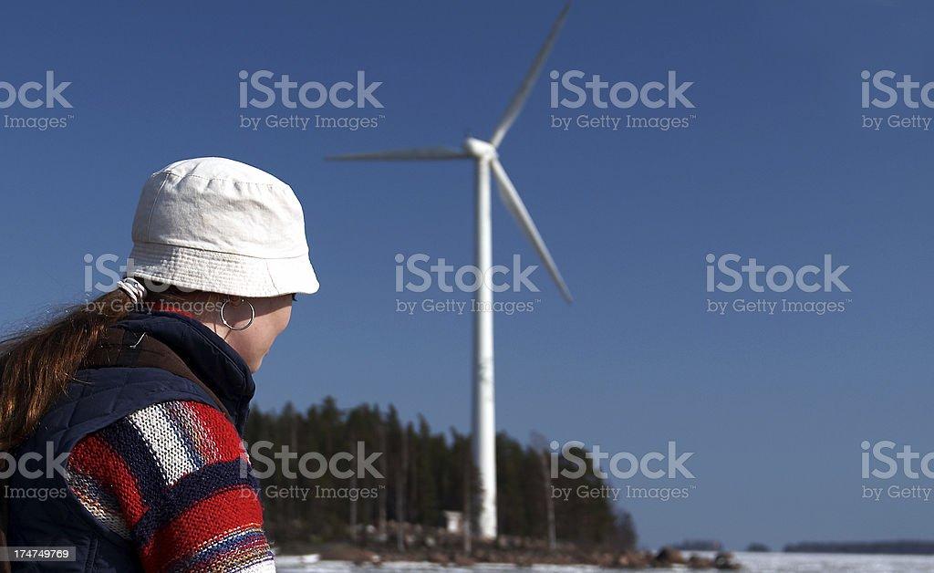 greenpower royalty-free stock photo