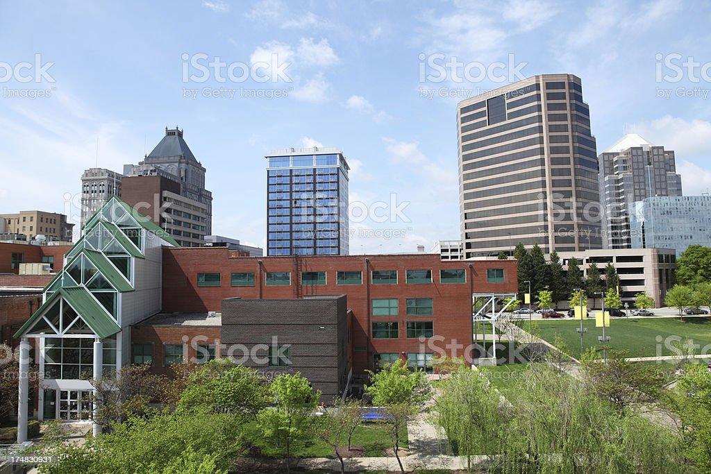 Greensboro royalty-free stock photo