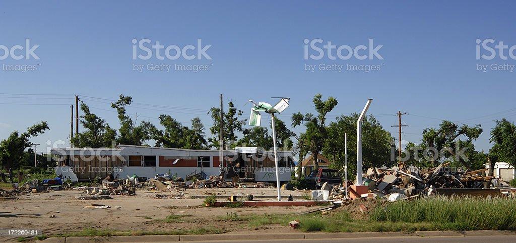 'Greensburg, Kansas' stock photo
