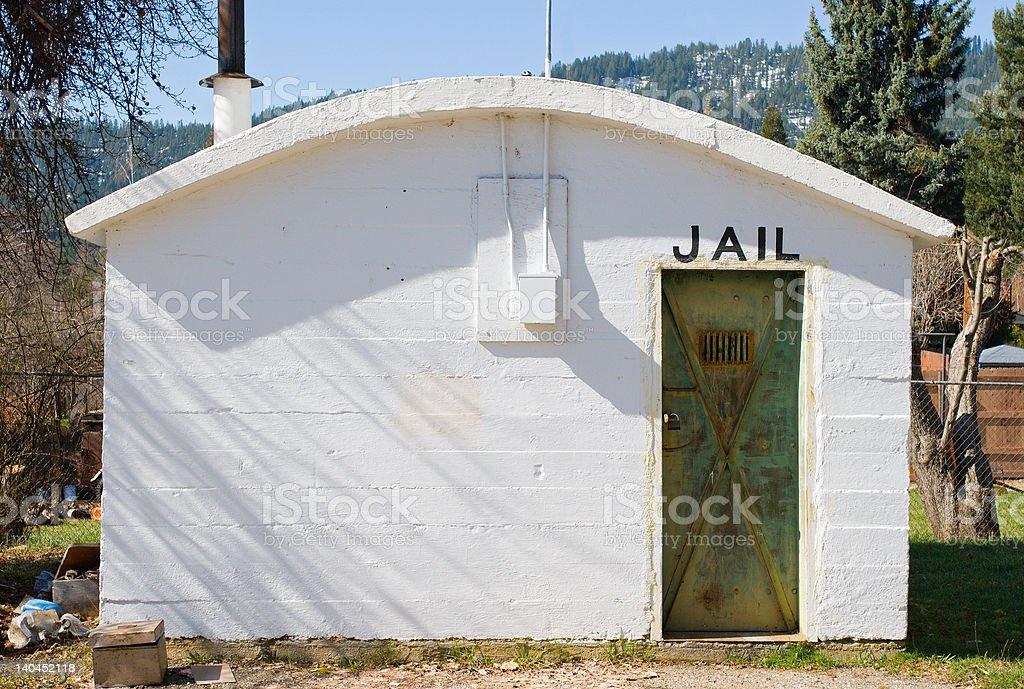 Greenville, CA Sheriff's Jail stock photo