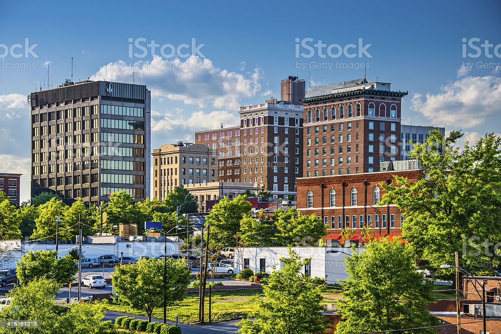 Greenville, South Carolina stock photo