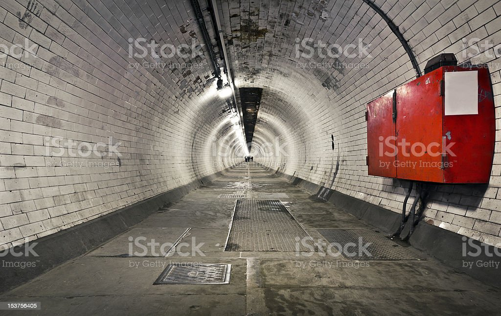 Greenwich Foot Tunnel royalty-free stock photo