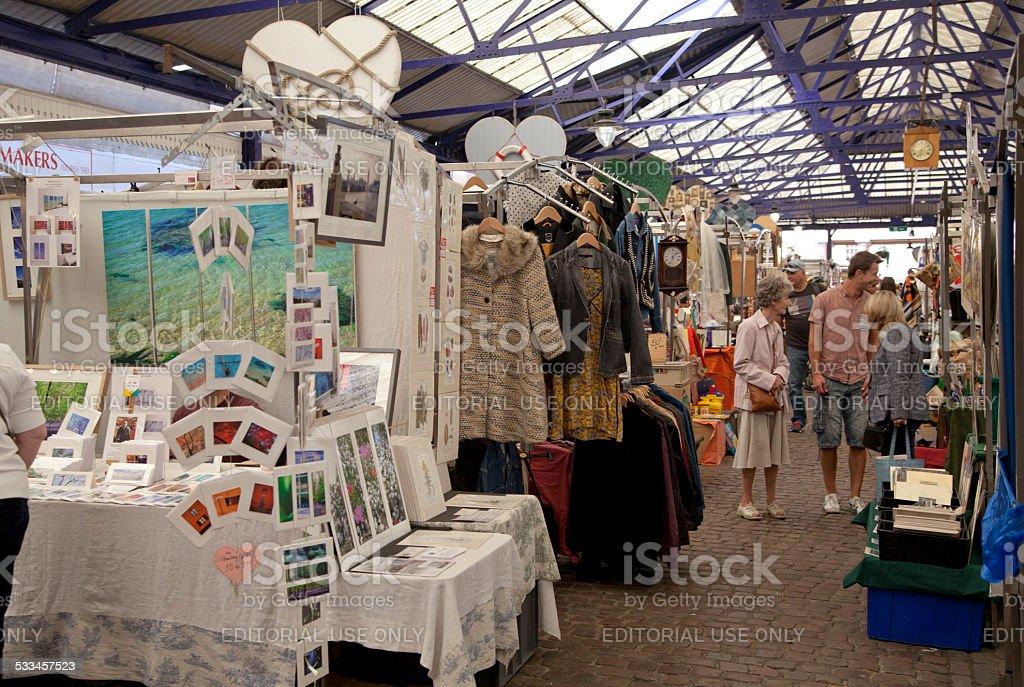 Greenwich market. London stock photo