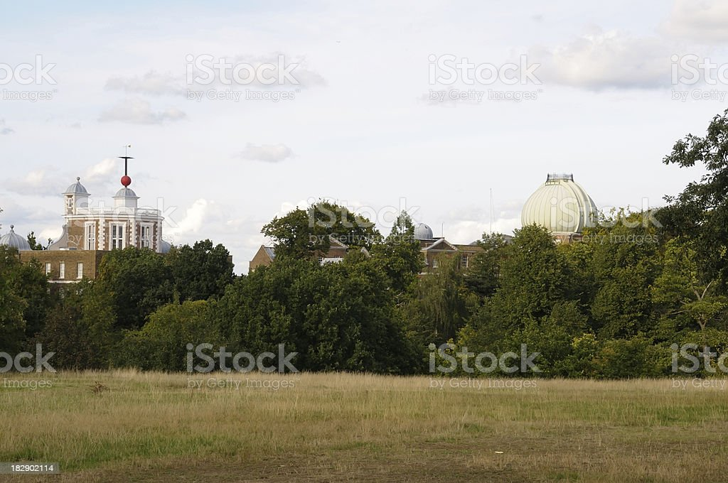 Greenwich Observatory stock photo