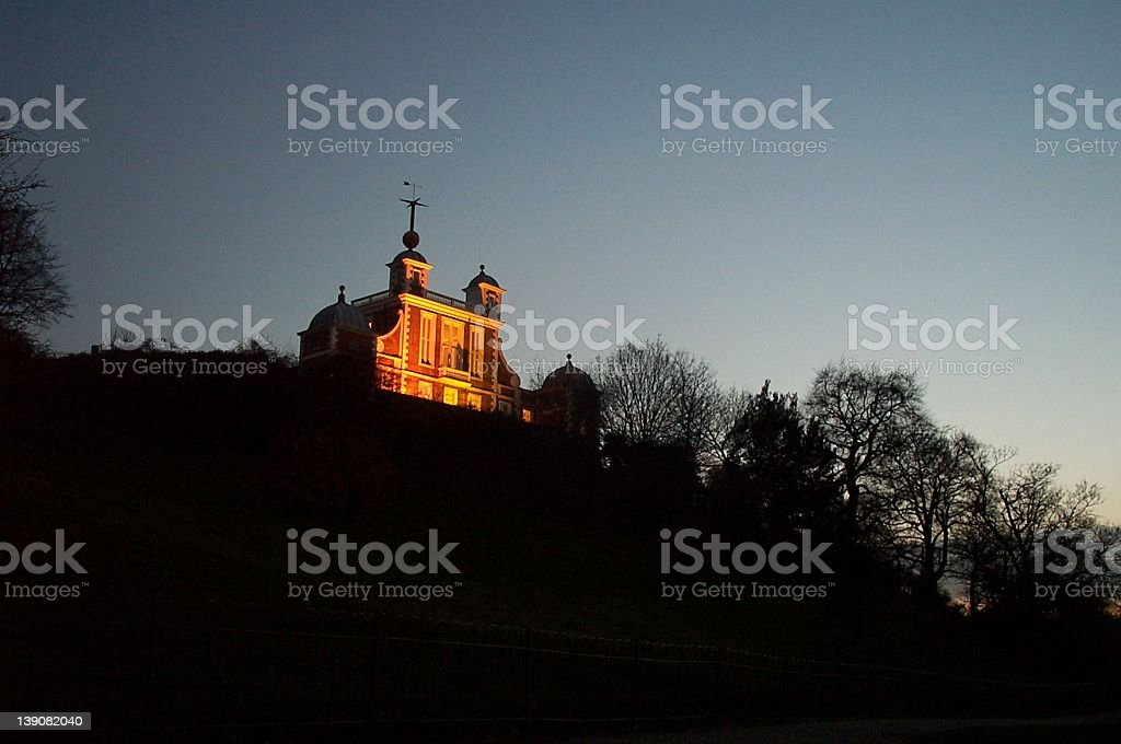 Greenwich Royal Observatory royalty-free stock photo