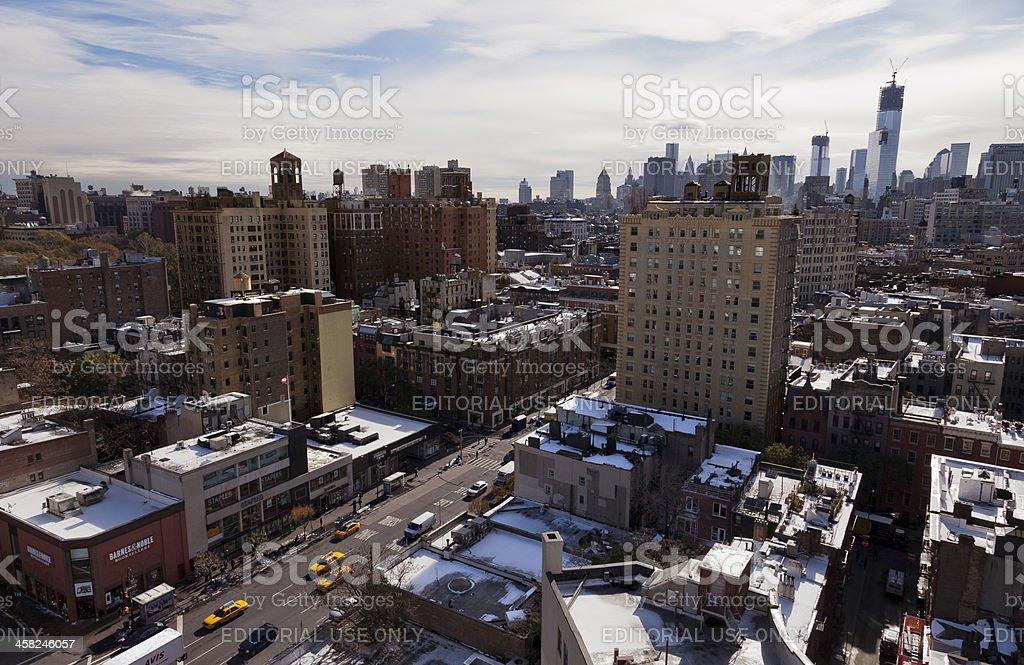 Greenwich Street in New-York City stock photo