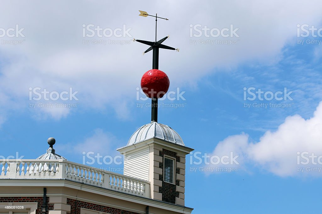 Greenwich Time Ball stock photo