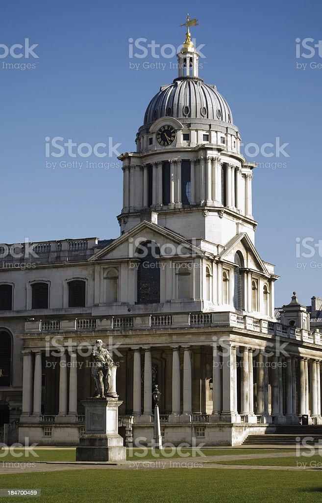 Greenwich University, London stock photo