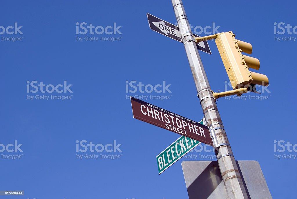 Greenwich Village stock photo