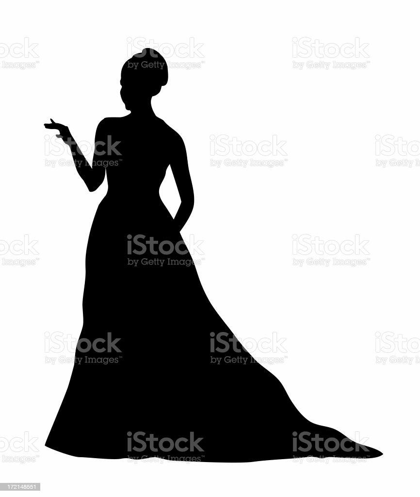 Greeting Bride royalty-free stock photo