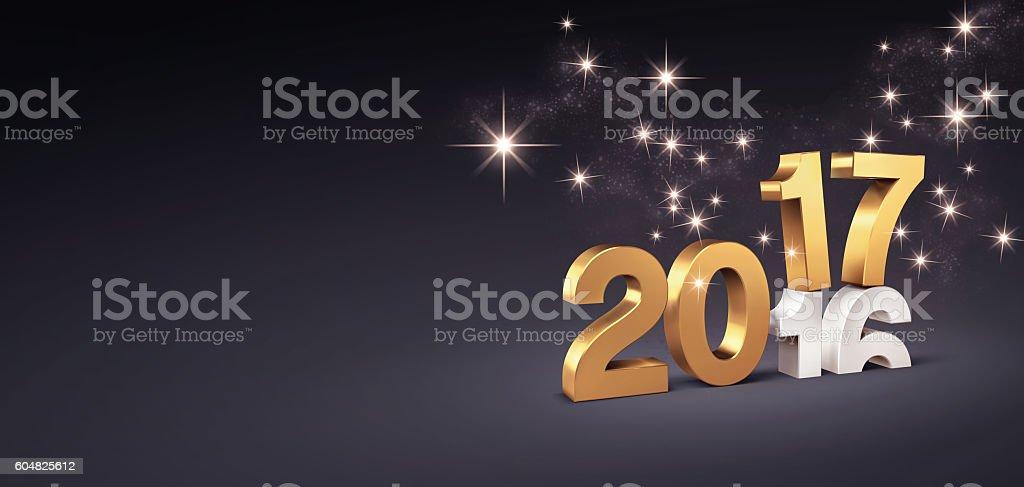 2017 Greeting card stock photo