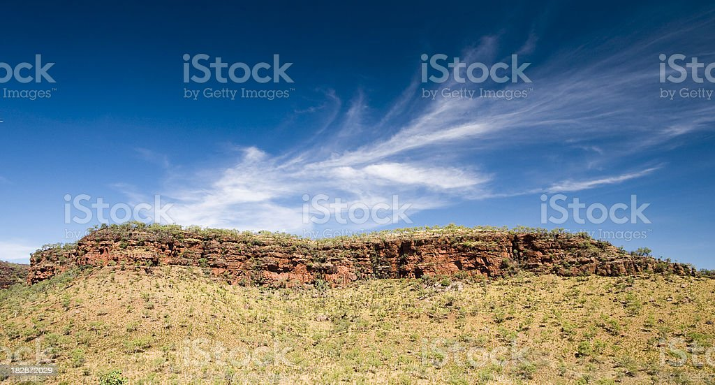 Gregory National Park Escarpment royalty-free stock photo