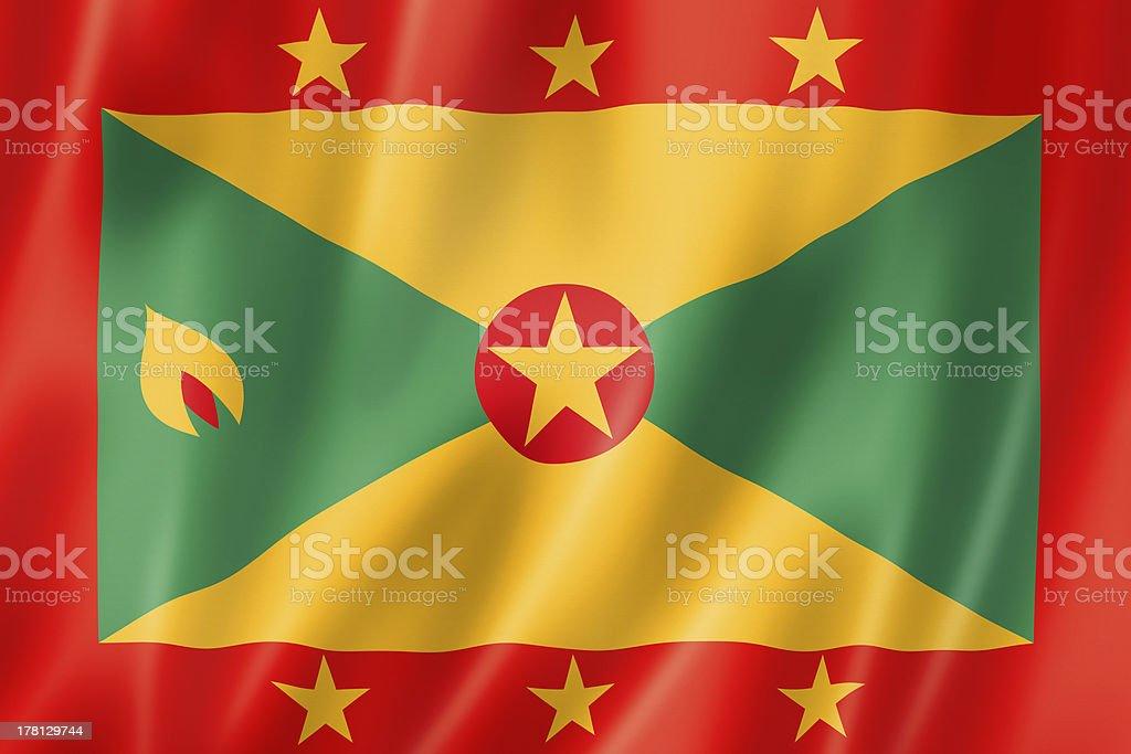 Grenada flag stock photo