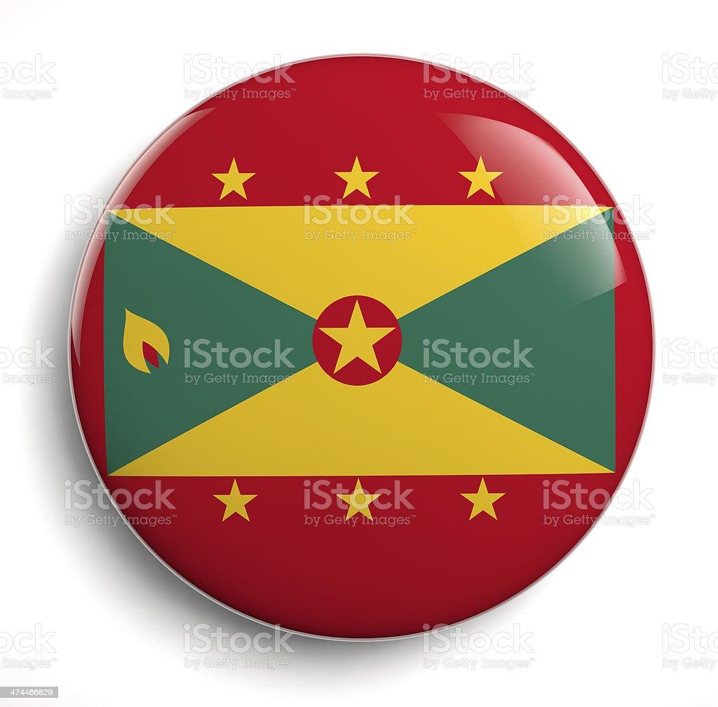 Grenada flag royalty-free stock photo