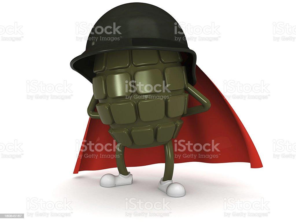 Grenade royalty-free stock photo
