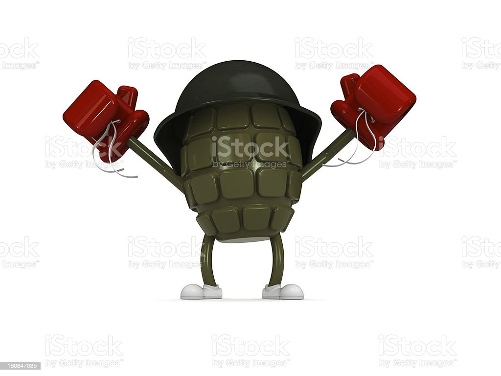 Grenade royalty-free stock photo