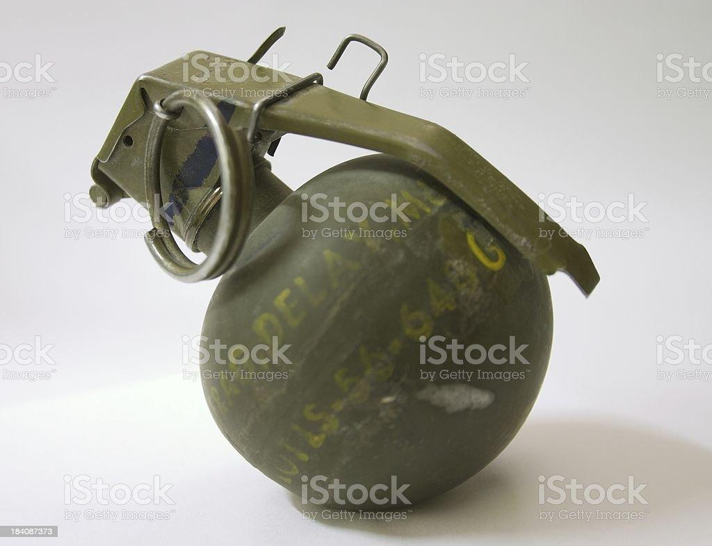 Grenade stock photo