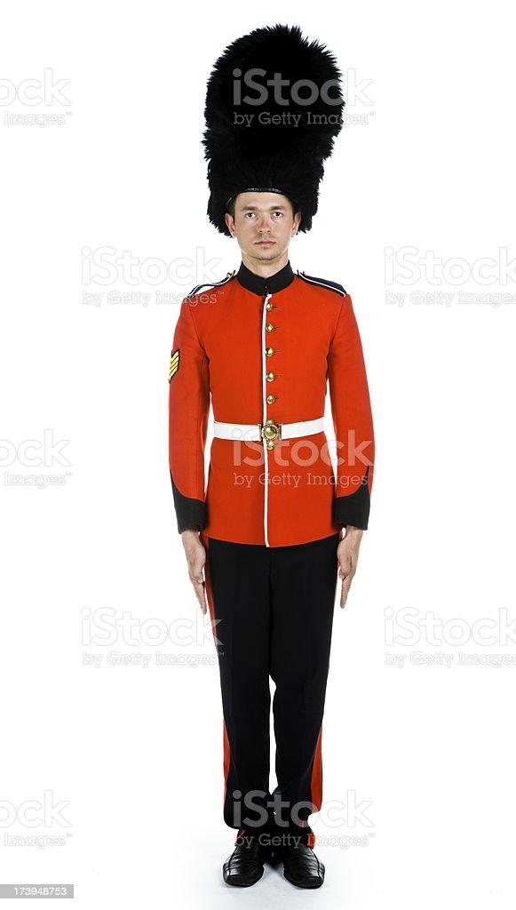 Grenadier Guard stock photo