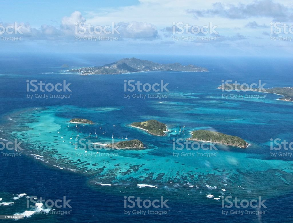 Grenadines stock photo