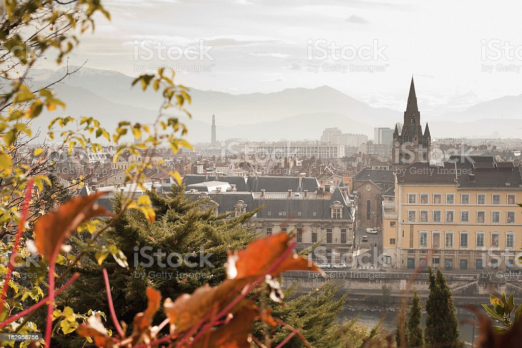 Grenoble, France royalty-free stock photo