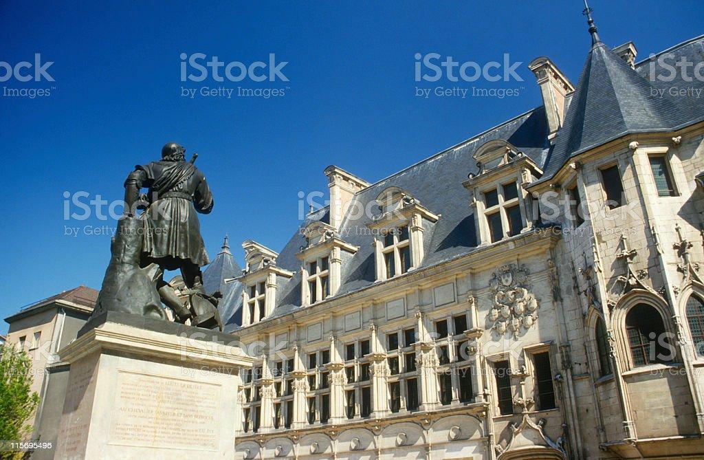 Grenoble Public Administration royalty-free stock photo