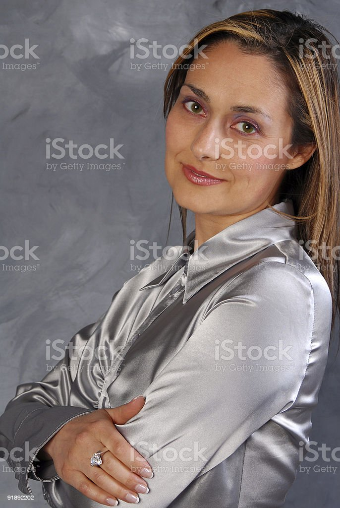 Grey and Silver stock photo