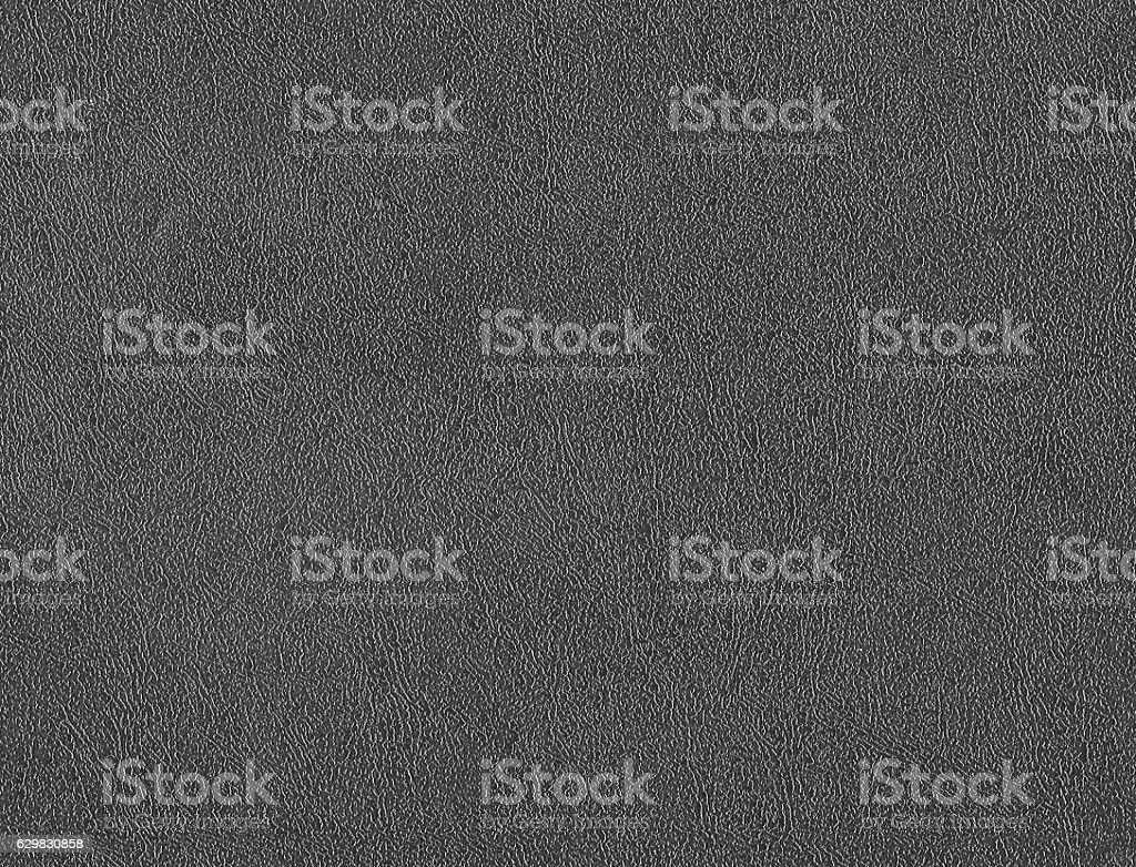Grey artificial leather surface. stock photo