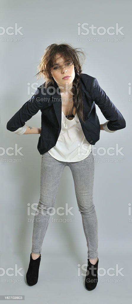 Grey background royalty-free stock photo