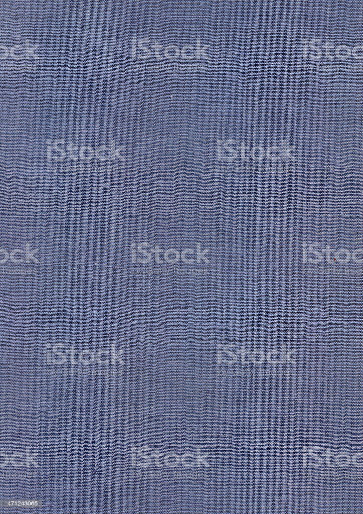 Grey Blue Canvas Cloth Texture royalty-free stock photo