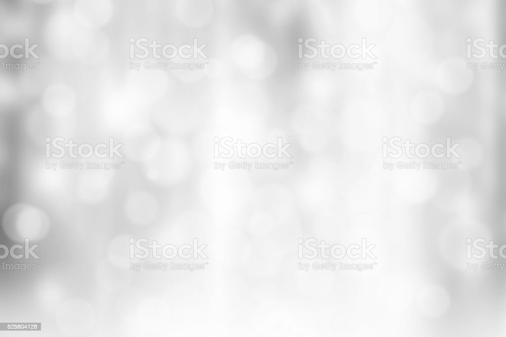 Grey Bokeh Background stock photo