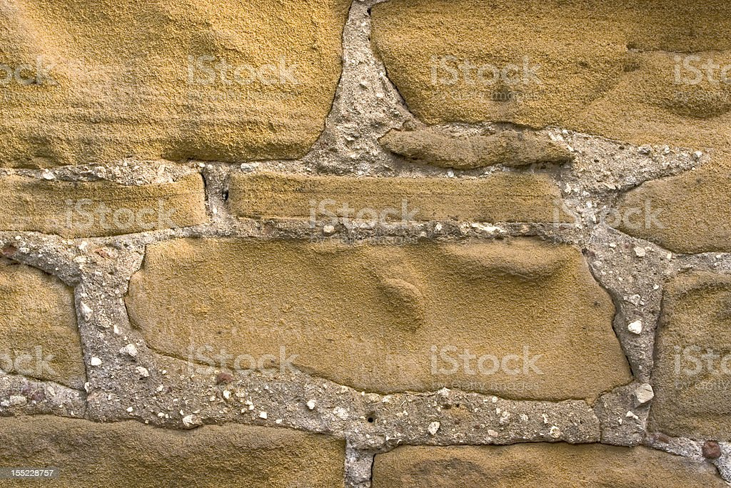 Grey brick. royalty-free stock photo