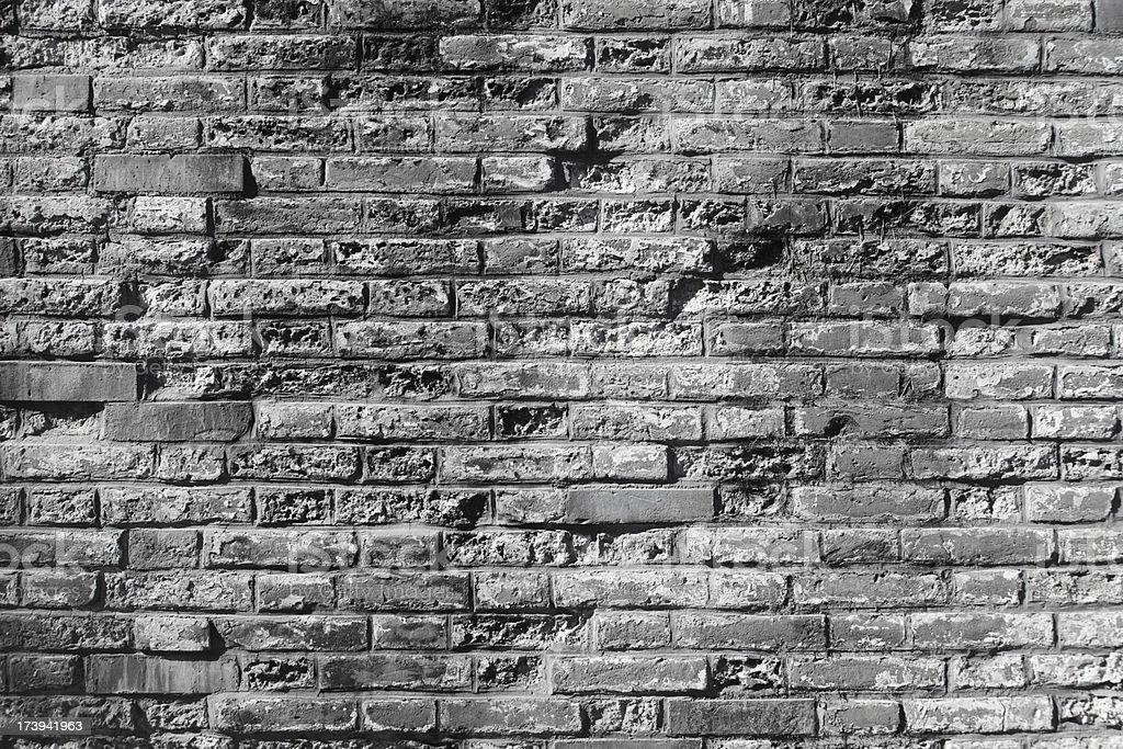 grey brick wall pattern royalty-free stock photo