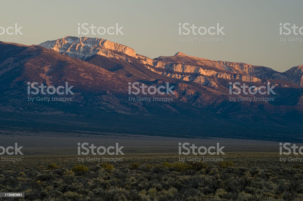 'Grey Cliffs, Great Basin National Park' stock photo