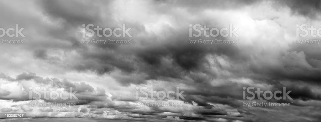 Grey clouds royalty-free stock photo
