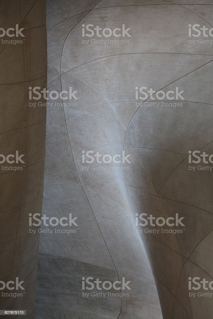 Grey concrete blocks background geometrical shape lines cement wall texture stock photo