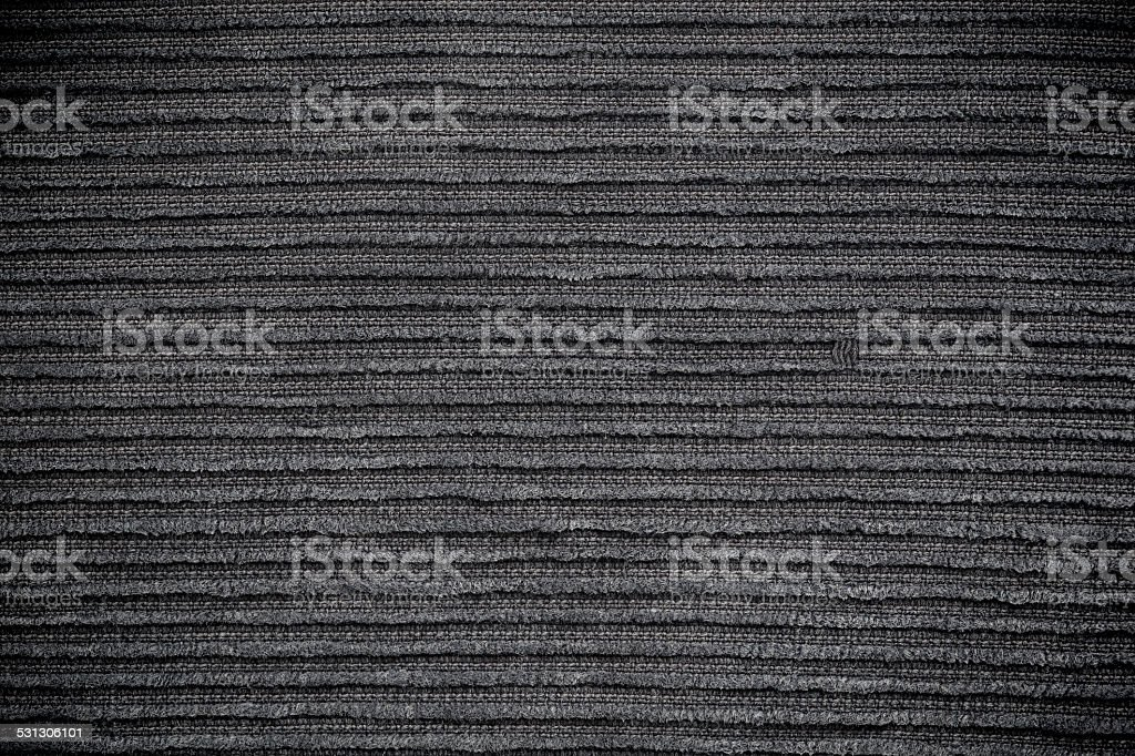 Grey corduroy texture for the background stock photo