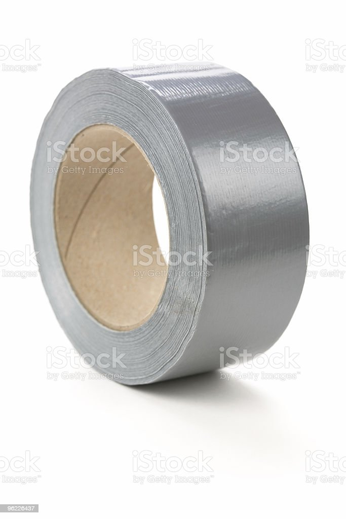 Grey Duct Tape royalty-free stock photo