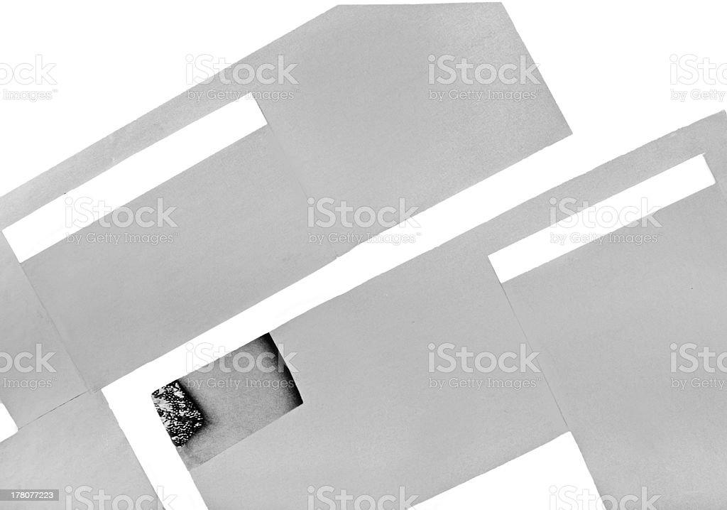 grey figures royalty-free stock photo