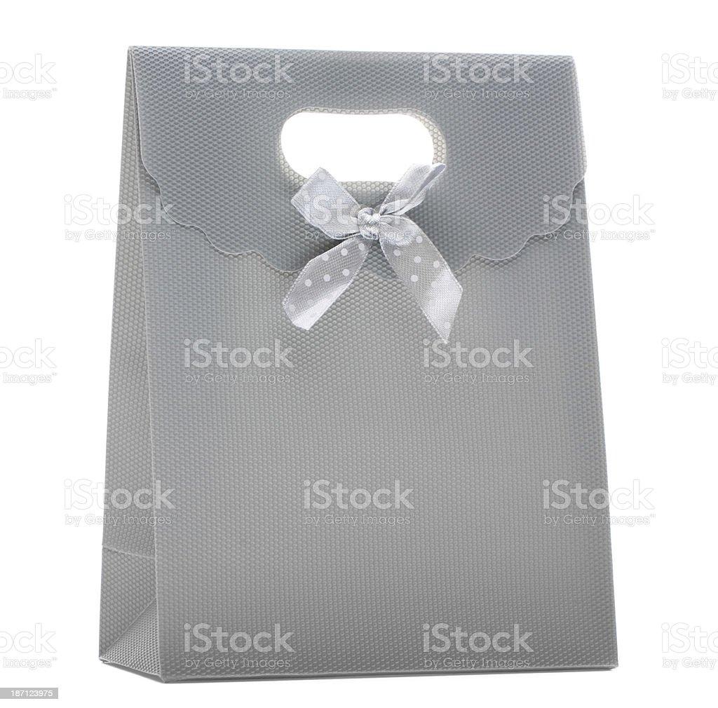 grey gift royalty-free stock photo