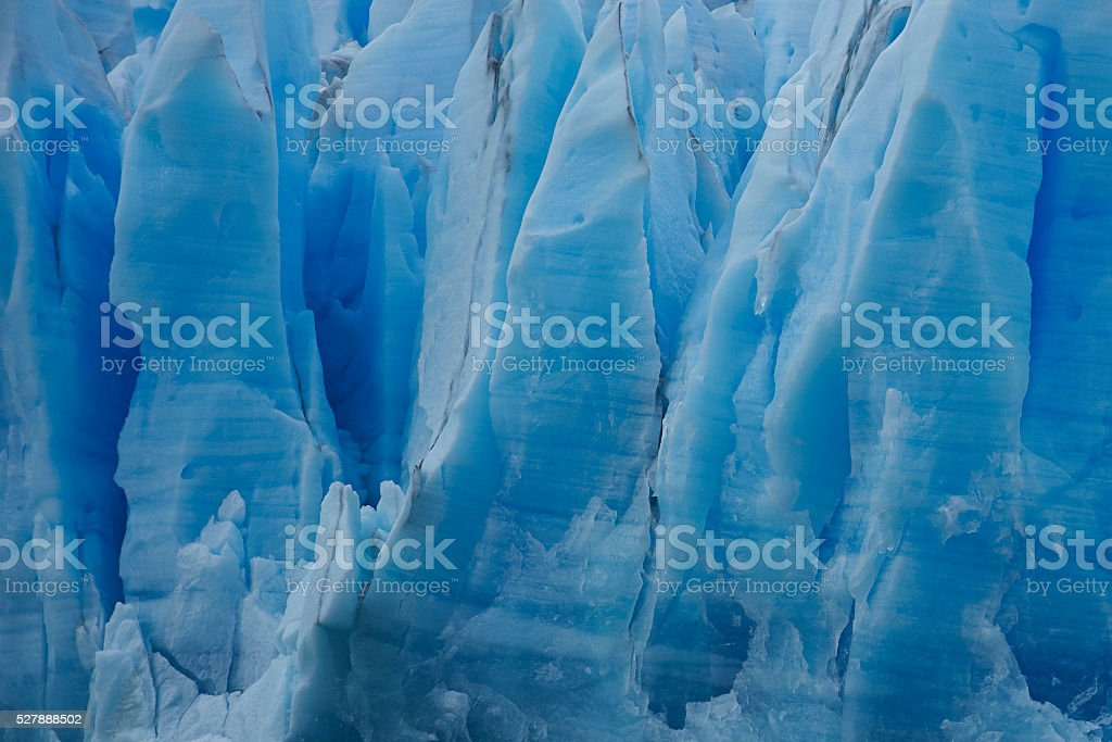 Grey Glacier, Patagonia, Chile stock photo