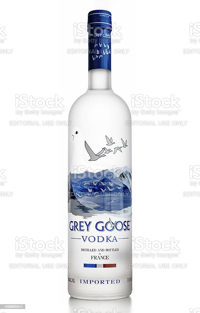 Grey Goose Vodka royalty-free stock photo