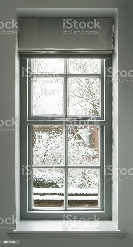 grey green window royalty-free stock photo
