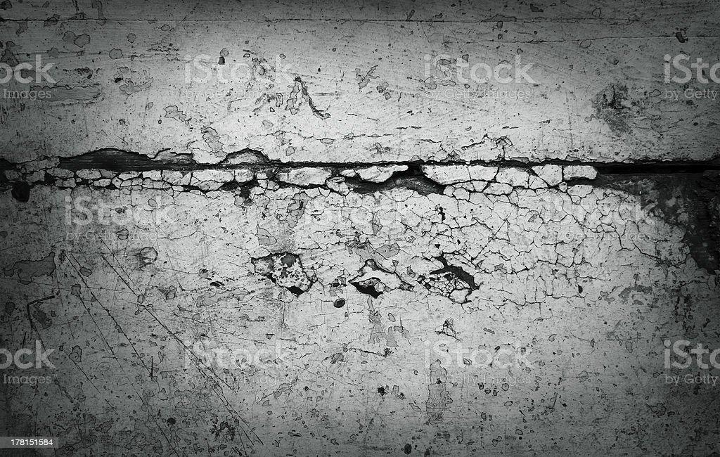 Grey grunge textured wall royalty-free stock photo