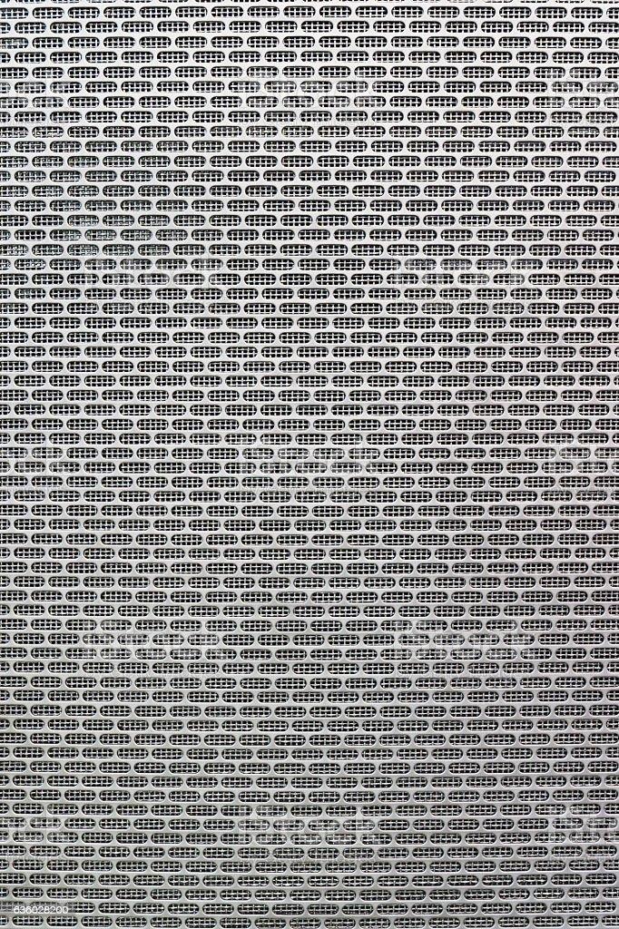 Grey metal cells texture stock photo