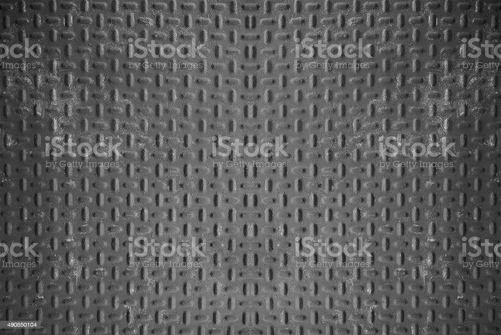 Cinza textura da folha de metal. foto royalty-free