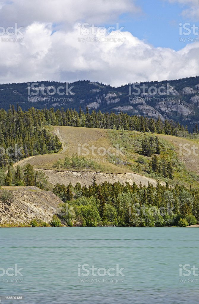 Grey Mountain Vertical stock photo