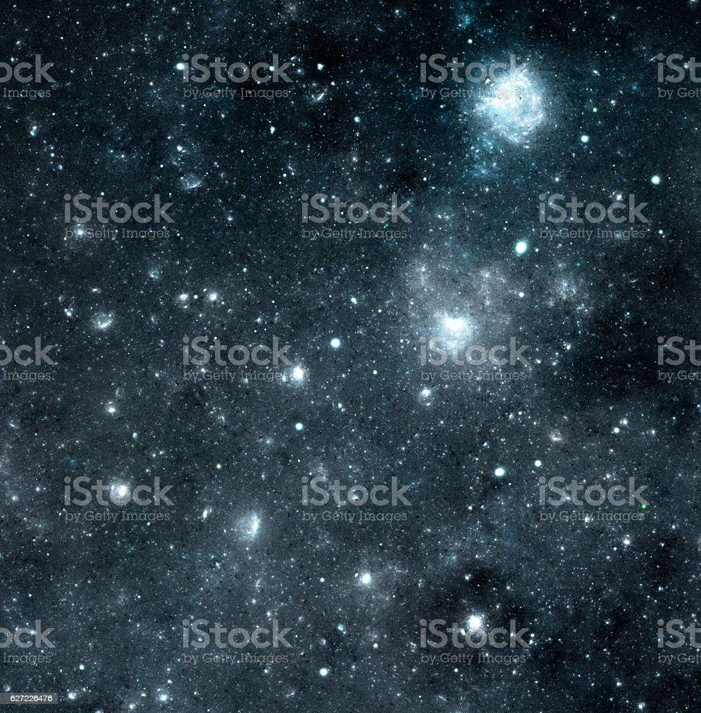 Grey nebula stock photo
