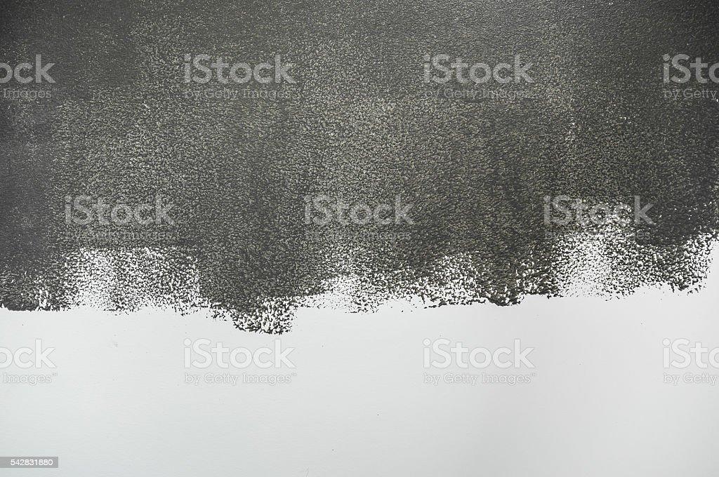 Grey paint. stock photo