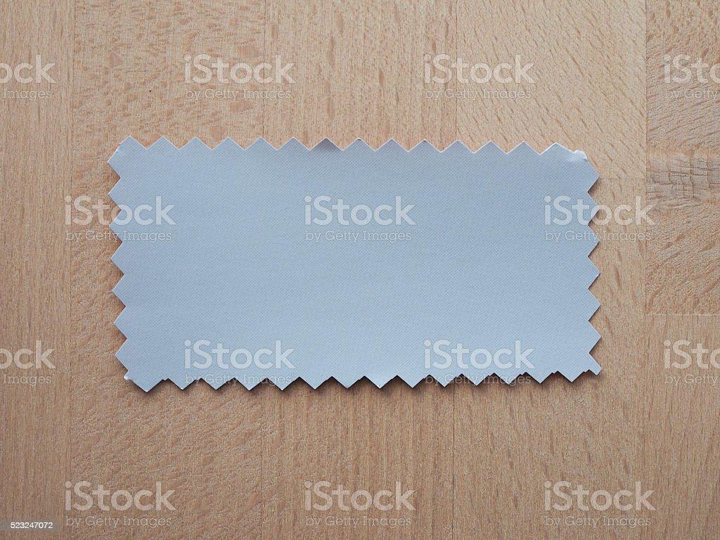 Grey paper sample stock photo