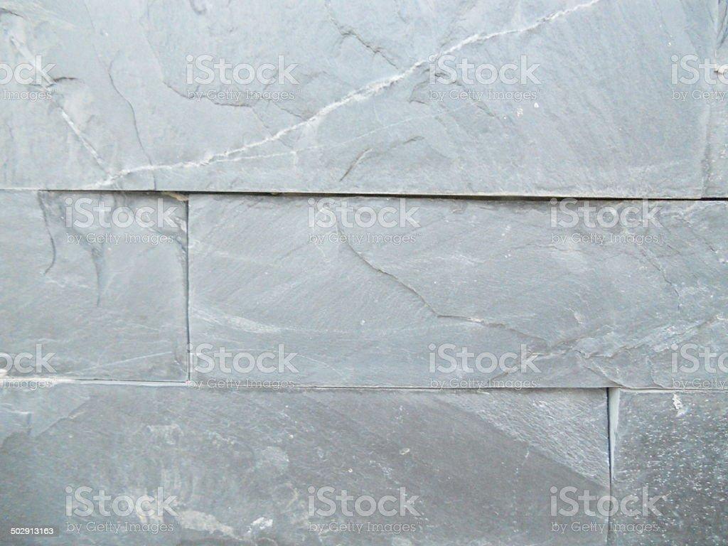 Gris Rectangle mur de briques photo libre de droits